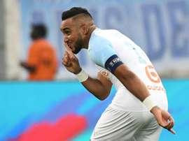Le joueur de Marseille Dimitri Payet. AFP