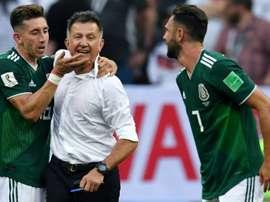 Herrera informou que não estará na Copa Ouro. AFP