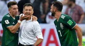 Héctor Herrera es un icono en su país. AFP