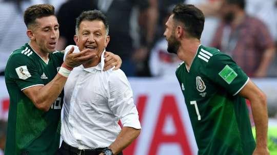 Herrera poderá ser embaixador do Atlético de Madrid. AFP