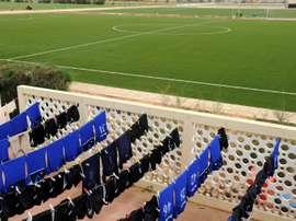 L'académie de football des Diambars à Saly au Sénégal, le 16 novembre 2013. AFP