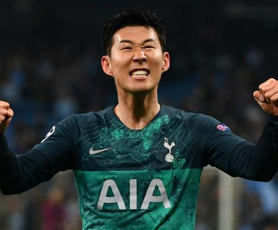 Son, who returns for the second leg, has scored many great goals. AFP