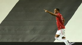 Man United beat LASK Linz 2-1. AFP
