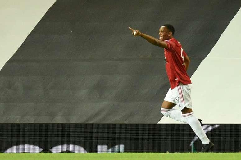 Man United beat LASK Linz 2-1. AFP