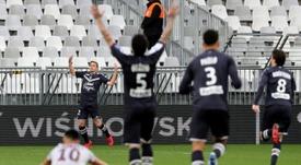 Les Girondins lancent une collecte pour aider le CHU de Bordeaux. AFP