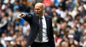 O desafio de Zidane: ceder 12 jogadores em 22 dias. AFP