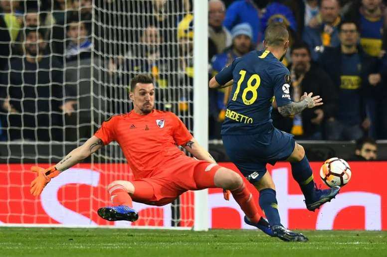 ¡River celebraría el título de Boca en la Copa de la Superliga! AFP