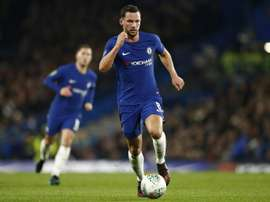 Burnley are interested in signing Drinkwater from Chelsea. AFP