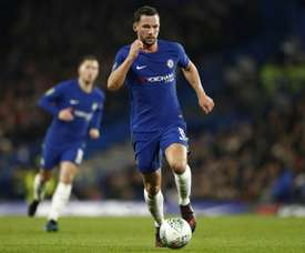 Danny Drinkwater suffered serious injuries in the attack. AFP