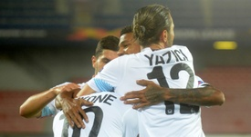 Les compos probables du match de Ligue Europa entre Lille et Celtic. afp