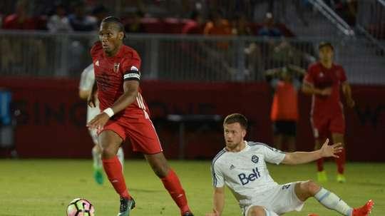 Didier Drogba a réussi ses débuts en USL. AFP