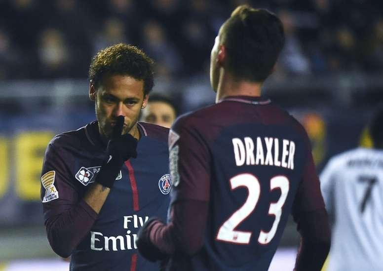 Draxler conferma la discussione con Neymar. AFP