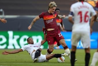 Le formazioni ufficiali di Roma-Fiorentina. AFP