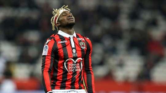 Saint-Maximin, sur la liste des joueurs intéressant l'Atlético. AFP