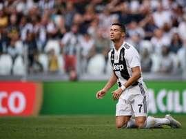 Ronaldo va-t-il débloquer son compteur ce week-end. AFP