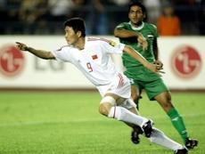Une ex-star du foot chinois appelle à renverser le Parti. afp