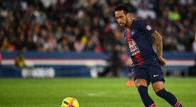 Neymar no viajó con el equipo a Alemania. AFP