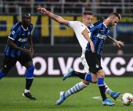 Liverpool cible un joueur de l'Inter Milan. AFP