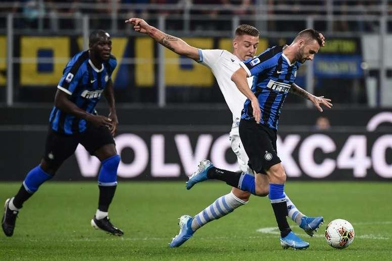 La proposition de l'Inter pour Milinkovic-Savic. AFP
