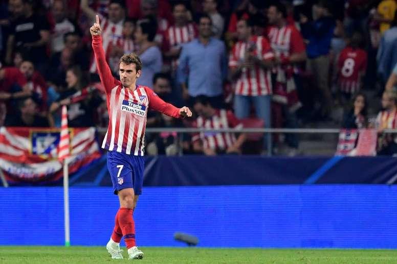 L'attaquant français de l'Atletico Madrid, Antoine Griezmann. AFP