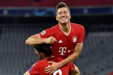 Lewandowski arme fatale du Bayern, mais.... AFP