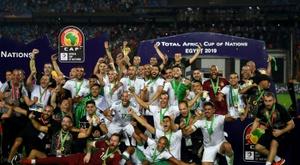 L'Algérie affronte la Colombie à Lille. AFP