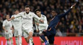 Kondogbia confessed his love for Madrid. AFP