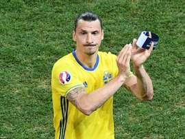 Ibrahimovic no jugará el Mundial pese a sus últimos intentos. AFP