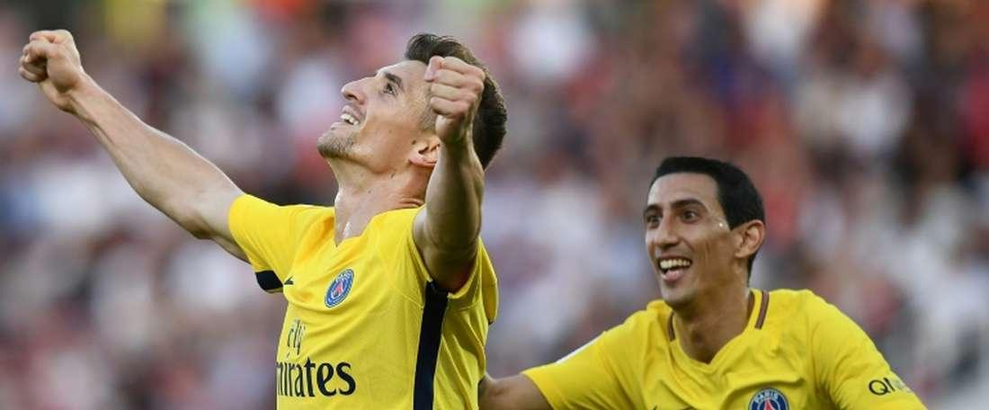 PSG vence em Dijon. AFP