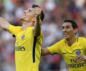 El PSG se lleva la victoria ante el Dijon. AFP