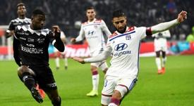 El Olympique de Lyon aguantó las acometidas del Guingamp. AFP