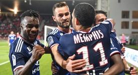 Les compos probables du match de Ligue 1 entre Lyon et Nîmes. AFP