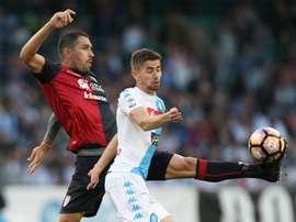 Boriello rejoint Ibiza. AFP