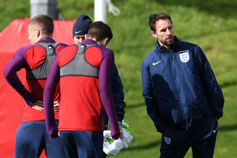 Southgate knows his team. AFP