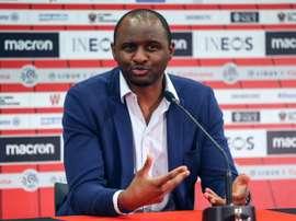 Vieira espérait mieux contre le PSG. AFP