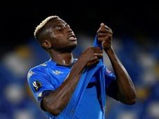 Naples retrouve Victor Osimhen. AFP