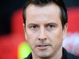 Julien Stéphan lors du match contre Marseille. AFP