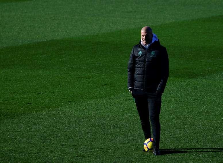 Zidane en a marre. AFP