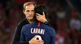 Tuchel ruled out Cavani from the start. AFP
