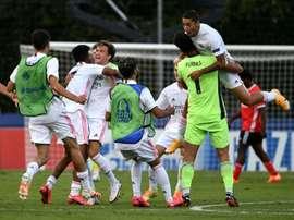 Le Real Madrid remporte la Youth League. AFP