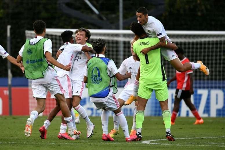 Pablo Rodríguez marcó el 1-0 y se lesionó. AFP