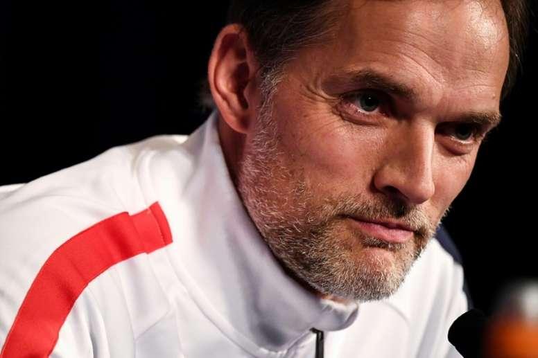 Tuchel diz que precisa contratar outro meio-campista. AFP