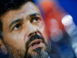Sergio Conceicao croit au 'come back'. AFP