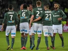 Les compos probables du match de Ligue 1 entre Amiens et Saint-Étienne. AFP