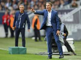 Claude Puel justifie l'absence de Zaydou Youssouf. AFP