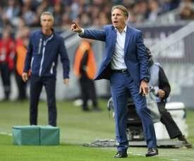 Claude Puel veut se débarrasser de 7 joueurs. AFP