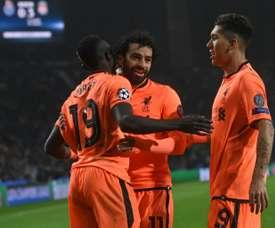 Sancho pour améliorer le trio de Liverpool ? AFP