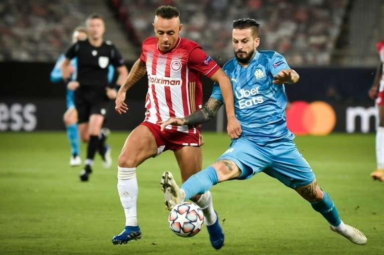 Les compos probables du match de Ligue des champions entre l'OM et Olympiakos. afp