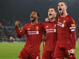 Liverpool quer começar 2020 com o pé direito. AFP