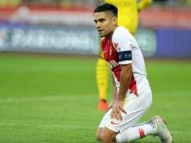 Falcao s'est blessé lors du match face à Strasbourg. AFP